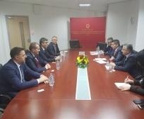 Ministar Rikalo posetio Ministarstvo poljoprivrede šumarstva i vodoprivrede Makedonije
