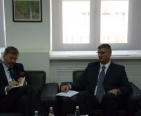 Ministri  Rikalo u takua me ambasadorin e Gjermanisë, Christian Heldt