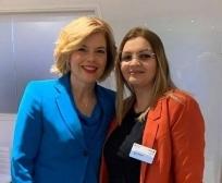 Ministrja Zhiviq takoi Ministren e Bujqësisë të Gjermanisë, Julia Klockner