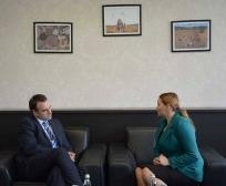 Ministrja Zivic takoi ambasadorin britanik Ruairi O'Connell