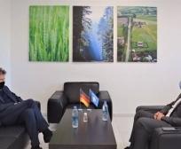 Ministri Mustafa priti në takim zv/ ambasadorin e Gjermanisë në Kosovë