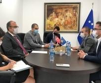 Ministar Mustafa sastao se sa ambasadorom Turske, Çağrı Sakar