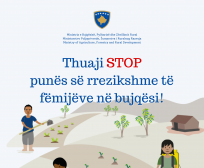Letër Informimi për parandalimin e punës së rrezikshme të fëmijëve në bujqësi