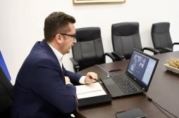 Ministri Mustafa zhvilloi takim virtual me drejtorin e Zyrës për Zhvillim Ekonomik nga USAID