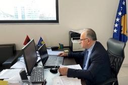 Sekretari i Ministrisë së Bujqësisë në takim virtual me përfaqësuesen për ekonomi në Ambasadën e ShBA-ve