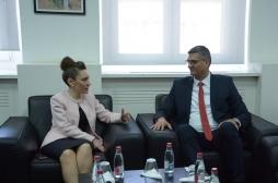 Ministar Rikalo se sastao sa ambasadorom  Turske g-djom Kvldžam Klć i delegacijom TIKA-e