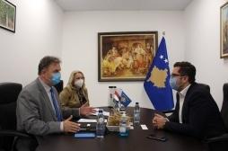 Ministar Mustafa dočekao je na sastanku ambasadora Mađarske na Kosovu
