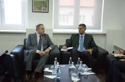 Ministri Rikalo takoi ambasadorin e Italisë, Piero Cristoforo Sardi