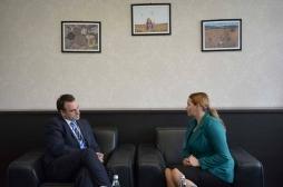 Ministarka  Živić se sastala  sa Britanskim ambasadorom Ruairi O'Connell
