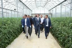 Ministri Mustafa shoqëron Kryeministrin Kurti në komunat e prekura nga dëmet e breshërit
