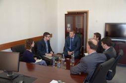 Zëvendësministri Januzi priti një delegacion nga Universiteti Minnesota