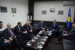 Zëvendësministri Januzi takoi delegacionin nga Parlamenti i landit Nordrajn Vestfalen të Gjermanisë