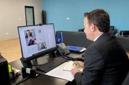 Ministri Peci në takim virtual me drejtoreshën e USAID-it, Lisa Magno