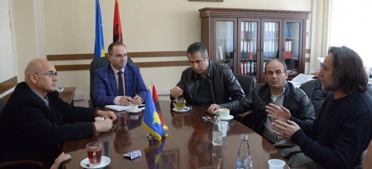 Zëvendësministri Krasniqi takoi drejtorin e IKC-së
